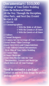 Wedding brochure-Documenmtary