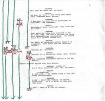 Lined Script